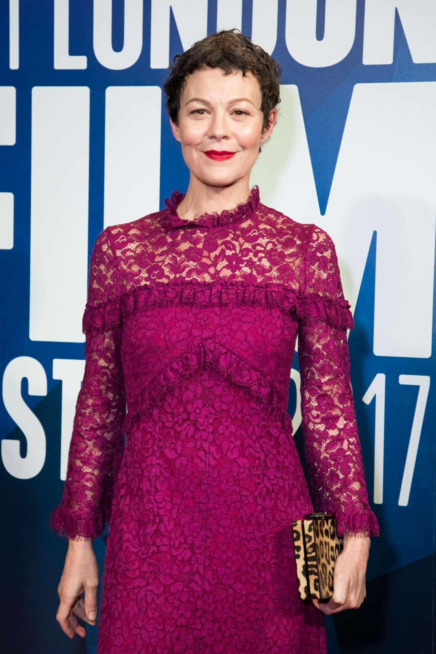 Helen Mccrory Leaving helen mccrory – 61st bfi london film festival awards in