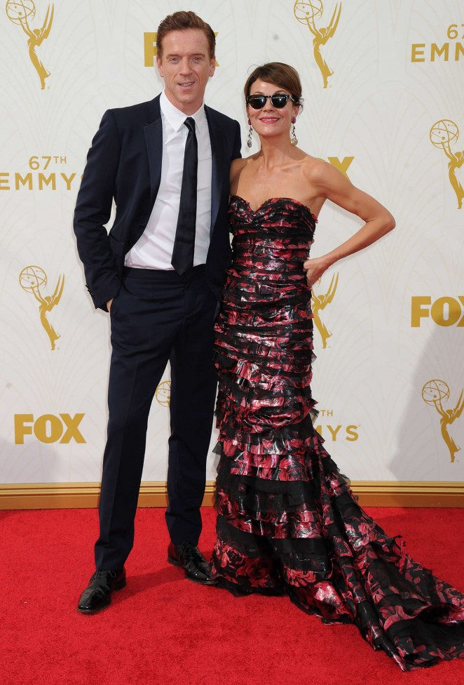 Helen McCrory - 2015 Emmy Awards in LA