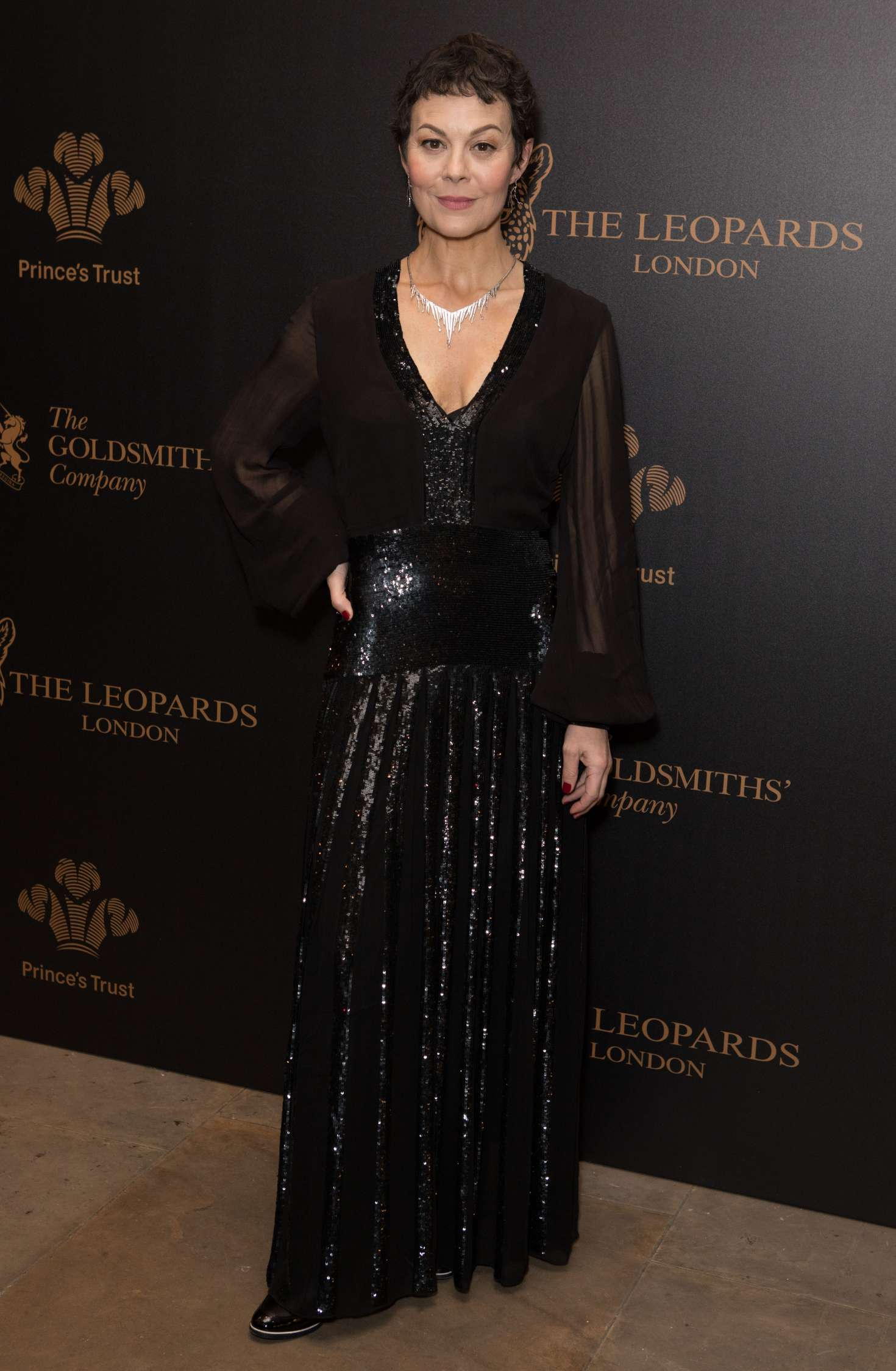 Helen Mccrory Leaving helen mccrory: the leopards awards in aid of the princes