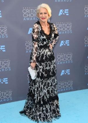 Helen Mirren - 2016 Critics' Choice Awards in Santa Monica