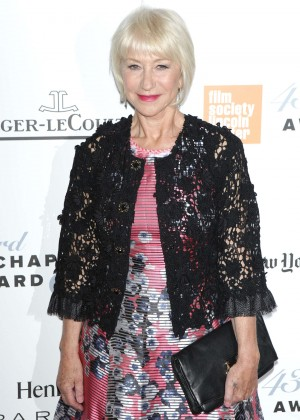 Helen Mirren - 43rd Annual Chaplin Award Gala in New York