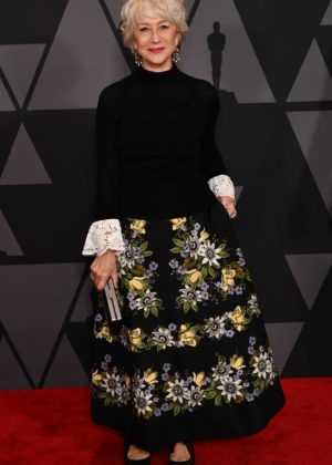 Helen Mirren - 9th Annual Governors Awards in Hollywood