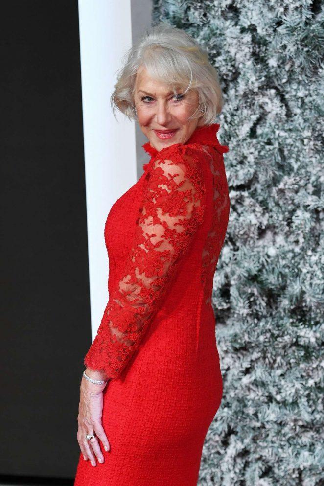 Helen Mirren - 'Collateral Beauty' Premiere in London