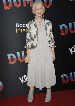 Helen Mirren - 'Dumbo' Premiere in Hollywood