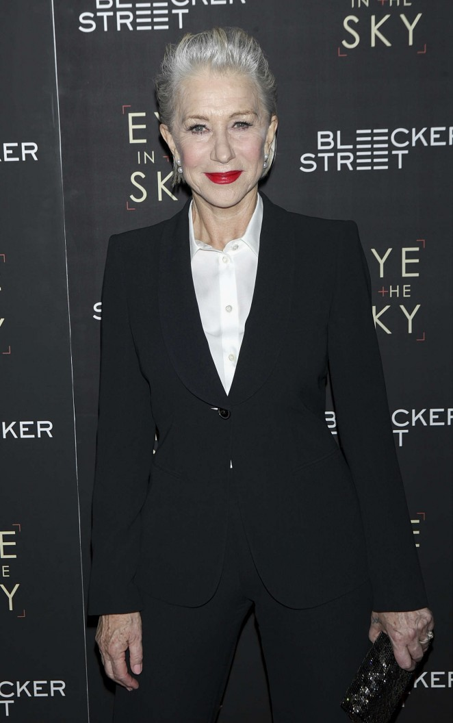 Helen Mirren - 'Eye in The Sky' Premiere in New York