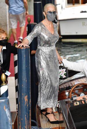 Helen Mirren - Seen after D n G fashion night in Venice