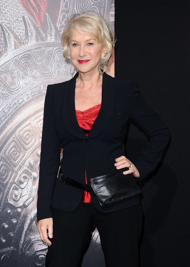 Helen Mirren - 'The Great Wall' Premiere in Hollywood