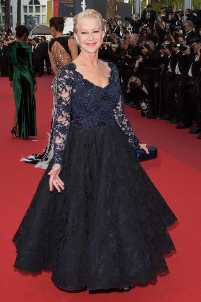 Helen Mirren - 'The Unknown Girl' Premiere at 2016 Cannes Film Festival