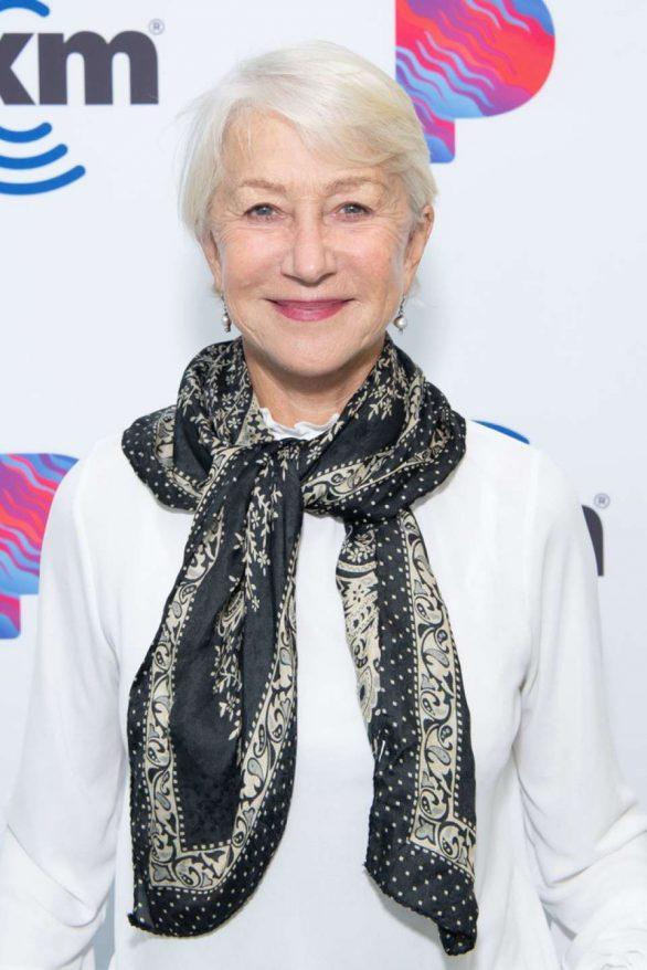 Helen Mirren - Visits The SiriusXM Hollywood Studios in Los Angeles