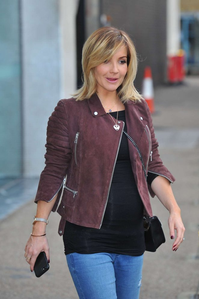Helen Skelton - Leaves Lorraine show in London