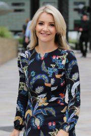 Helen Skelton - Outside ITV Studios in London