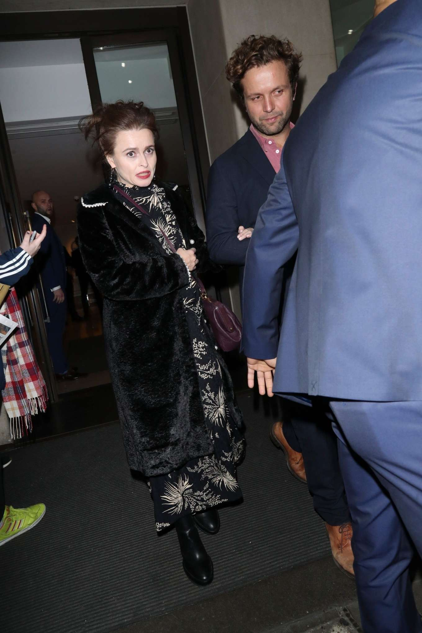 Helena Bonham Carter 2019 : Helena Bonham Carter – Arrives at Grandparents War TV screening-10