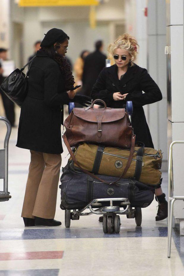 Helena Bonham Carter 2019 : Helena Bonham Carter: Arrives at JFK Airport -06