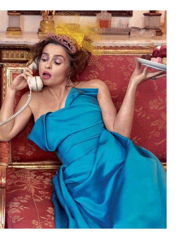 Helena Bonham Carter - Harper's Bazaar UK Magazine (December 2019)