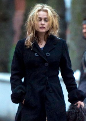 Helena Bonham Carter out in London  Helena Bonham Carter