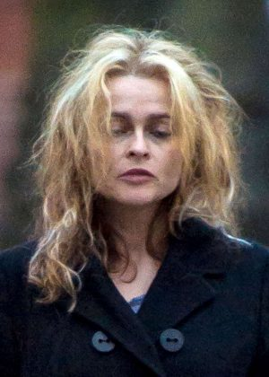 Helena Bonham Carter out in London -12