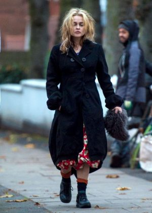 Helena Bonham Carter out in London -13