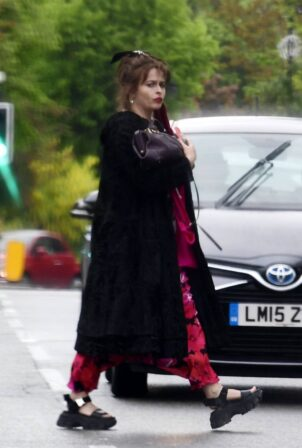 Helena Bonham Carter - Out in North London