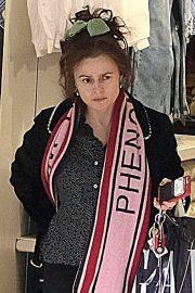 Helena Bonham Carter - Shopping in London