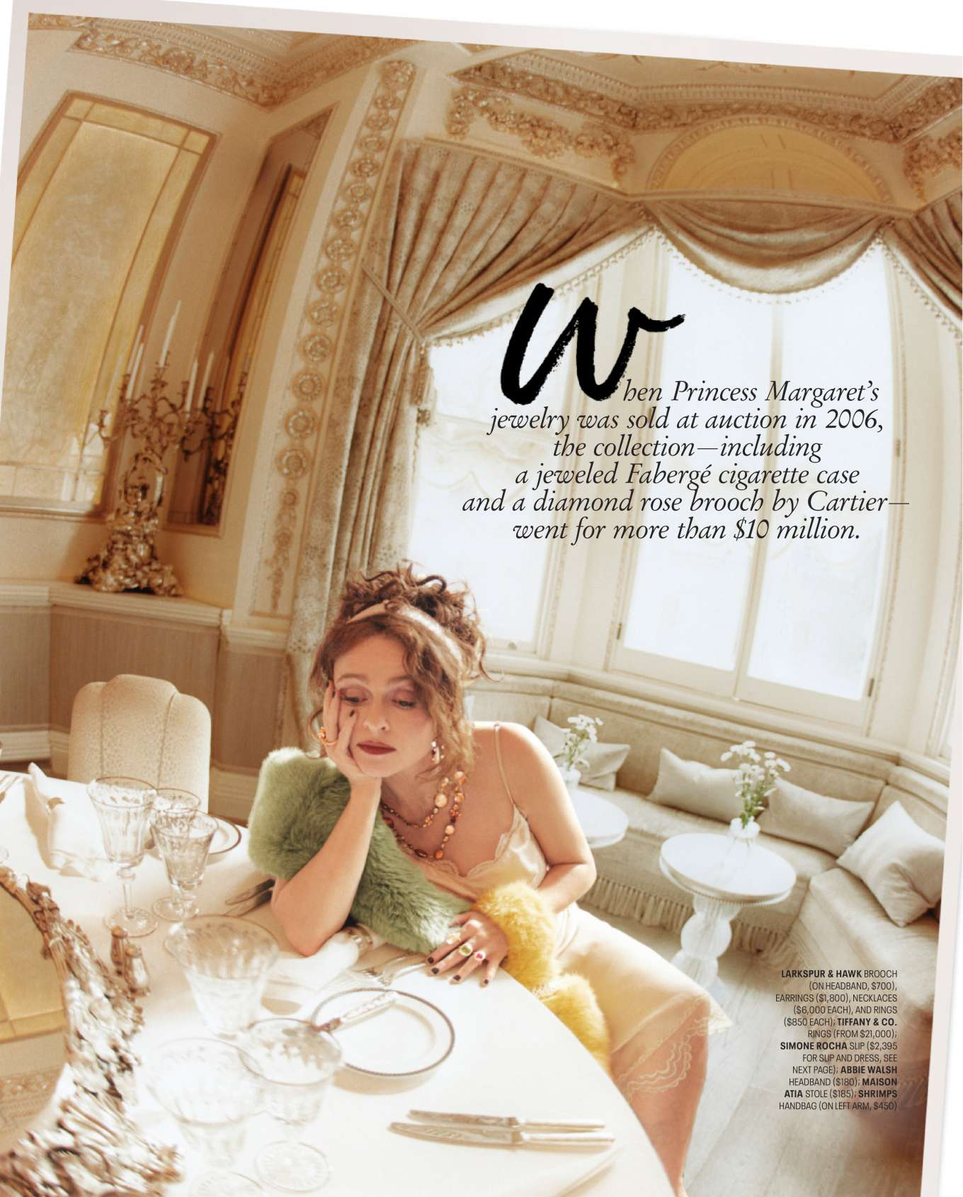Helena Bonham Carter - Town & Country Magazine (December 2019/January 2020)
