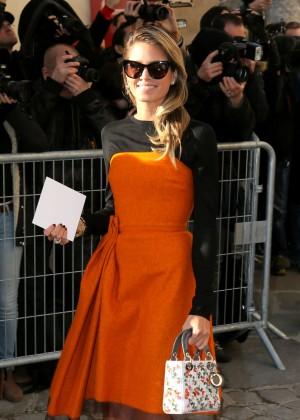 Helena Bordon - Arrivals at Christian Dior Fashion Show SS 2016 in Paris