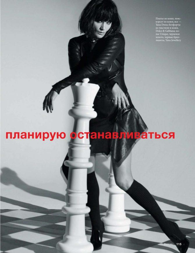 Helena Christensen: Elle Russia 2019 -01