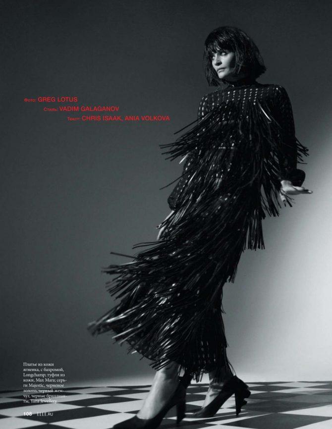 Helena Christensen: Elle Russia 2019 -03