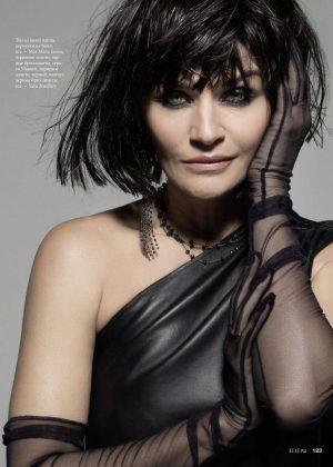 Helena Christensen - Elle Russia Magazine (February 2019)