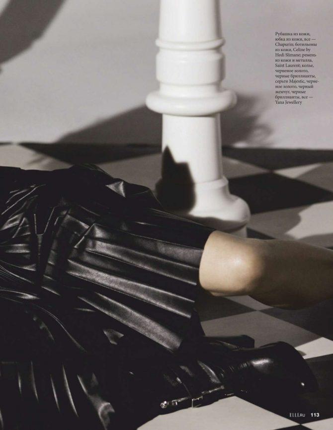 Helena Christensen: Elle Russia 2019 -16