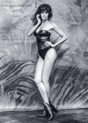 Helena Christensen - Grazia Italy Magazine (March 2017)