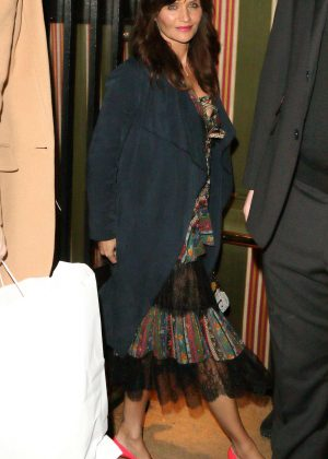 Helena Christensen - Love Me 17 X Burberry Party in London