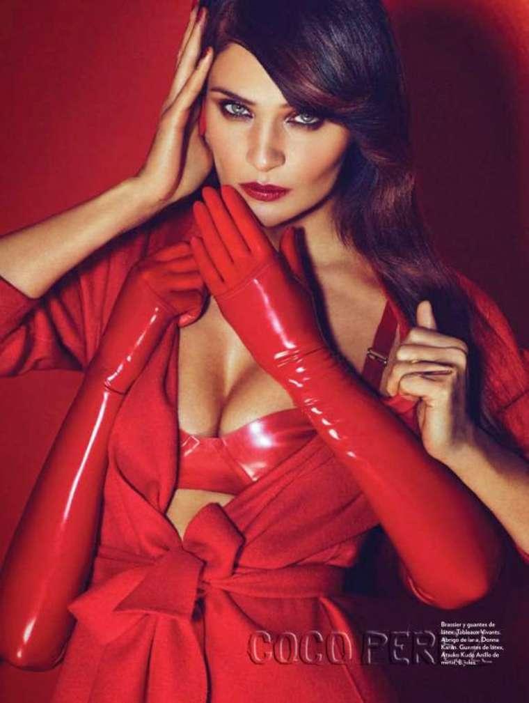 Helena Christensen - Marie Claire Mexico Magazine (February 2015)