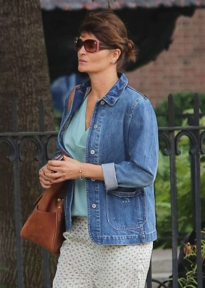 Helena Christensen - Out in New York