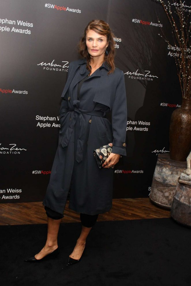 Helena Christensen - Stephan Weiss Apple Awards 2018 in New York