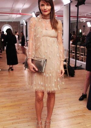 Helena Christensen - Valentino Resort 2018 Show in New York