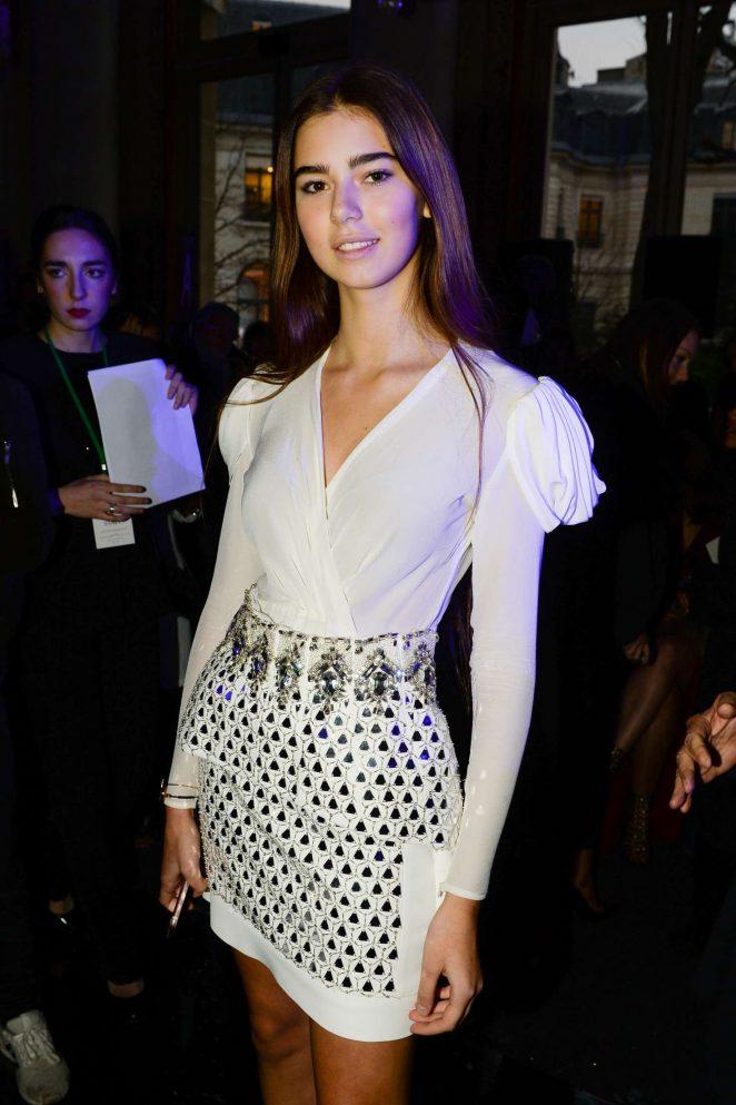 Helena Gatsby - Zuhair Murad Haute Couture SS 2017 Show in Paris