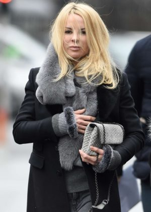 Helena Seger - Arrives at Old Trafford in Manchester