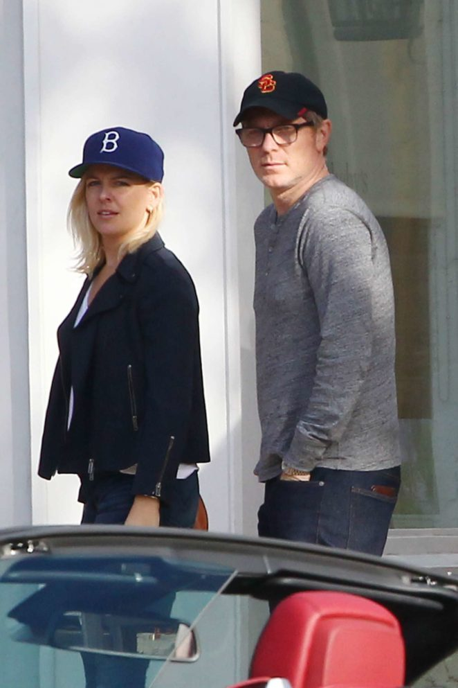 Helene Yorke and Bobby Flay out in The Hamptons