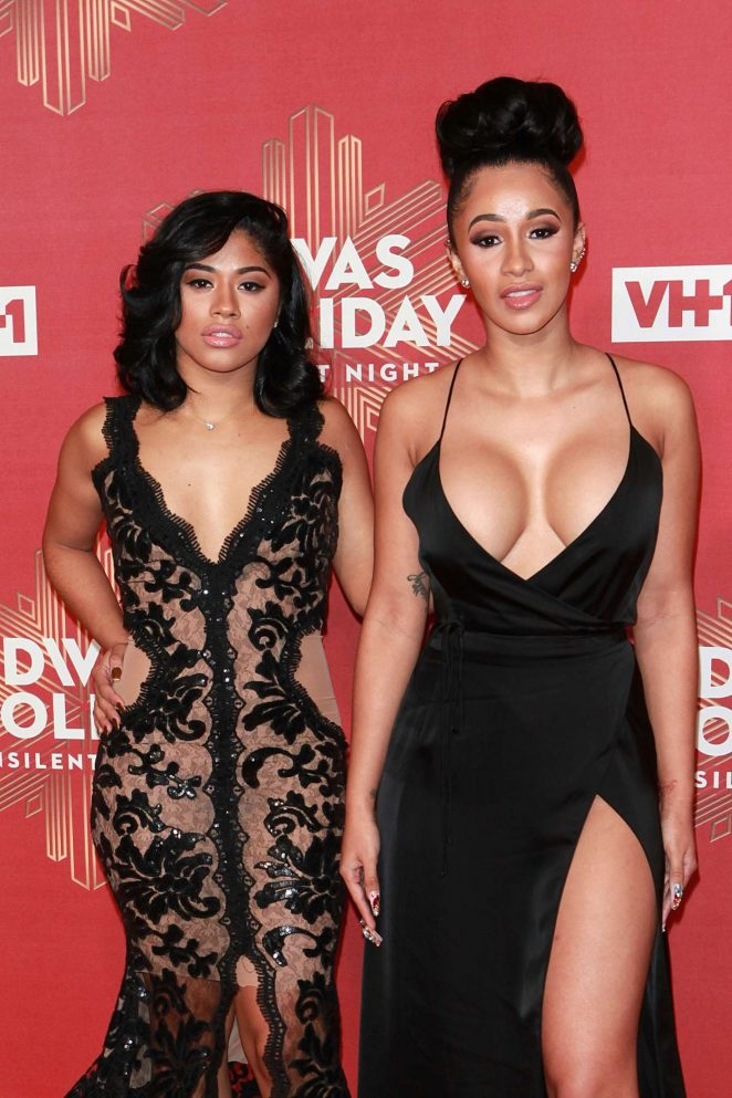 Hennesy and Cardi B - 2016 VH1's Divas Holiday: Unsilent Night in NY