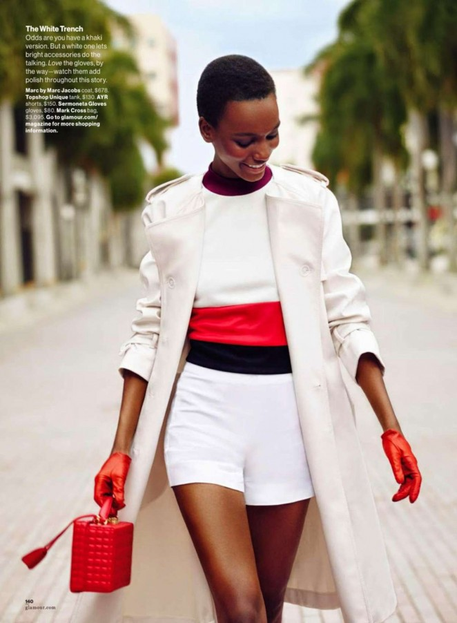 Herieth Paul - Glamour USA Magazine (February 2015)