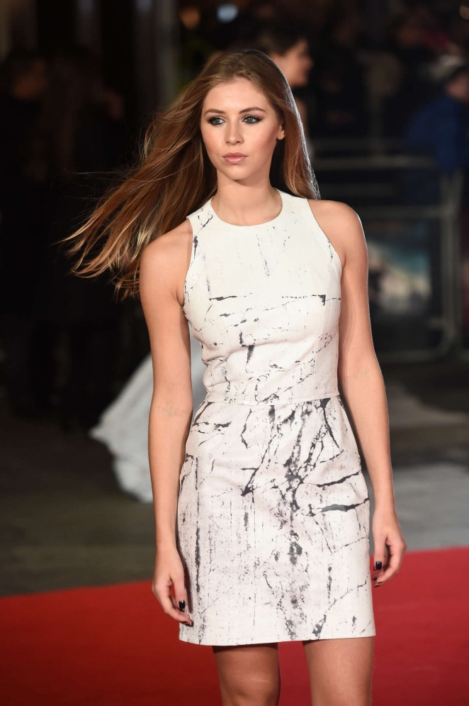 Hermione Corfield - 'Pride and Prejudice and Zombies' Premiere in London