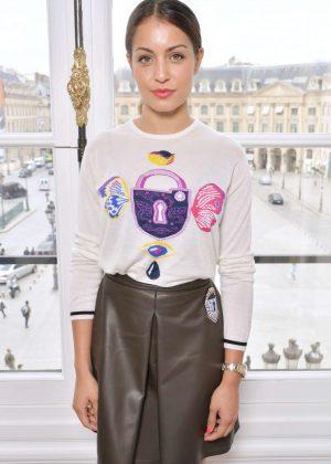 Hiba Abouk - Schiaparelli Fashion Show FW 2017 in Paris