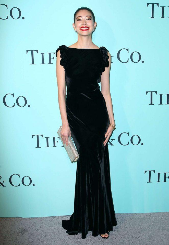 Hikari Mori: Tiffany and Co 2017 Blue Book Collection Gala -03