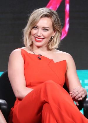 Hilary Duff - 2016 Winter TCA Tour in Pasadena