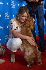 Hilary Duff - 2019 D23 Disney event at Anaheim Convention Center