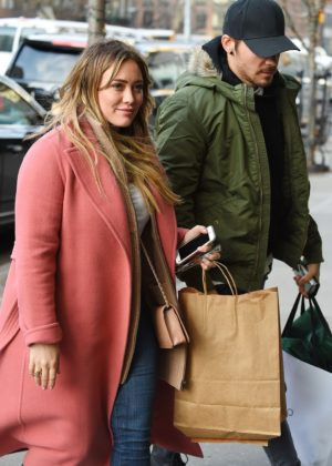 Hilary Duff and boyfriend Matthew Koma at The Bowery Hotel in NY