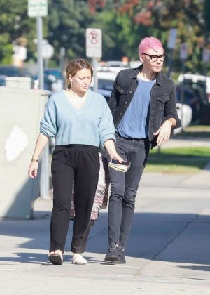 Hilary Duff and Matthew Koma - Out for a coffee in LA