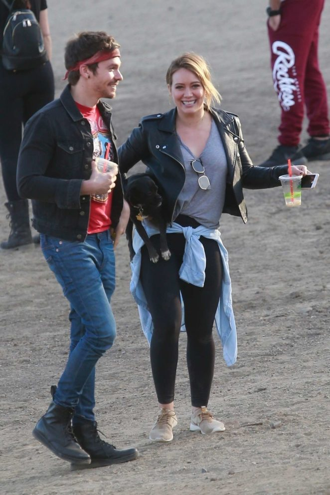 Hilary Duff and Matthew Koma out in Los Angeles