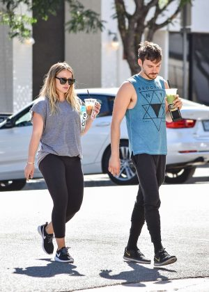 Hilary Duff and Matthew Koma - Out in Los Angeles