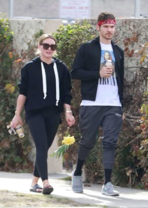 Hilary Duff and Matthew Koma - Out in Studio City